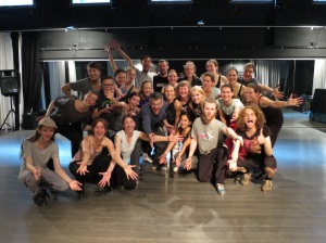 What a lot of fun with this international group of tap dancing freaks!