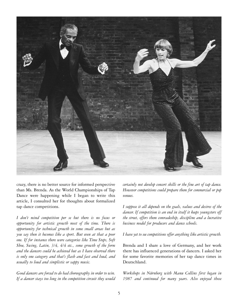 Brenda Bufalino - Tap Dance Legend 5