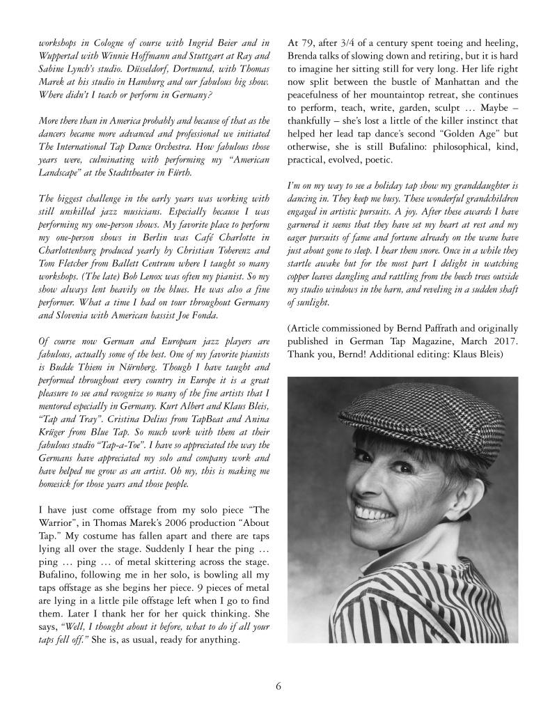 Brenda Bufalino - Tap Dance Legend 6
